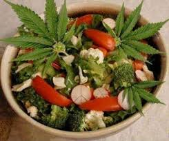 How to Make Weed Salad