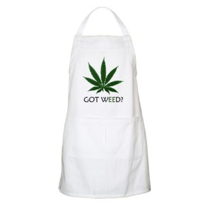 got_weed_bbq_apron
