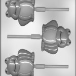 CK Products 3-1/4-Inch Frog Sucker Chocolate Mold