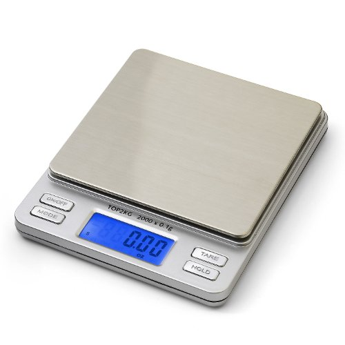 Smart weigh digital pro pocket scale with back lit lcd for Perfect drink pro scale