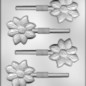 CK Products 2-3/4-Inch Flower Sucker Chocolate Mold