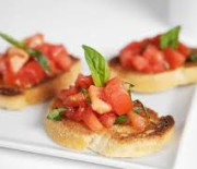 Weed Infused Bruschetta